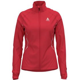 Odlo Zeroweight Windproof Warm Jacket Women hibiscus